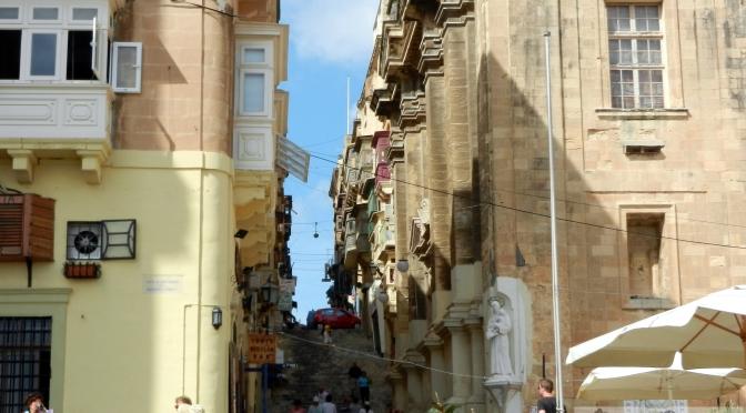Boczne uliczki Valetty