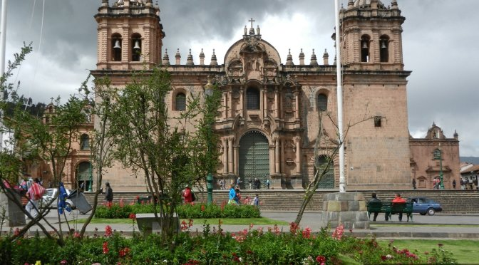 Inkaskie złoto w Cuzco