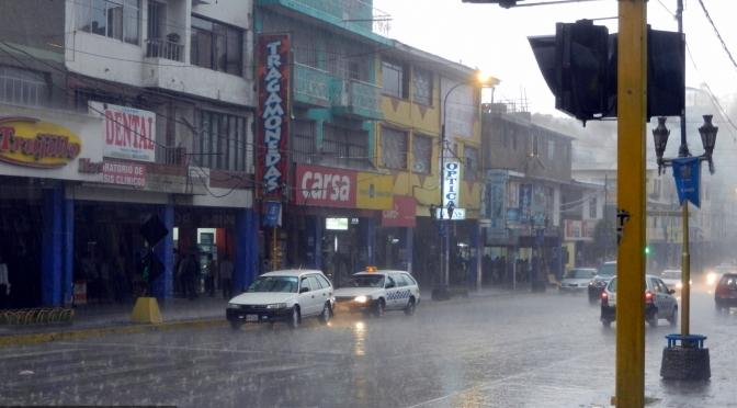 Ulewa w Huaraz