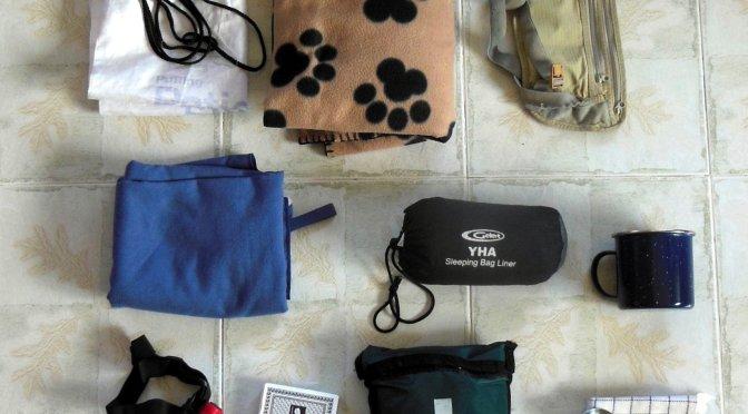 Dookoła świata – pakowanie (2) –  akcesoria